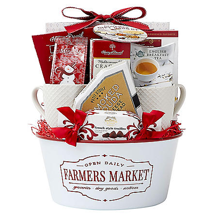DesignPac Farmer's Market Basket Gift