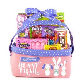 Pink Easter Fabric Bin