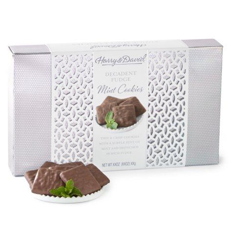 Harry & David Fudge Mint Cookies