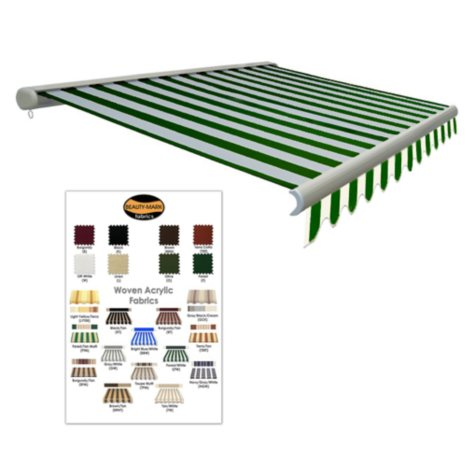 10 ft. Laguna® Motor Retractable Awning - 7 ft. Projection (Left Motor)