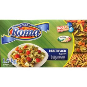ROMA Tri-Color Pastas (6 pk.)