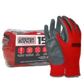 Grease Monkey Nitrile-Coated Work Gloves (15 pk.)