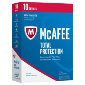 McAfee 2017 Total Protection 10-Device