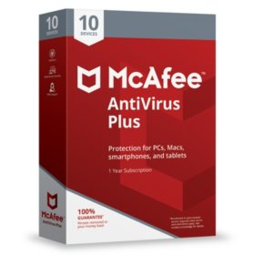 McAfee Antivirus Plus 2019 10-Device