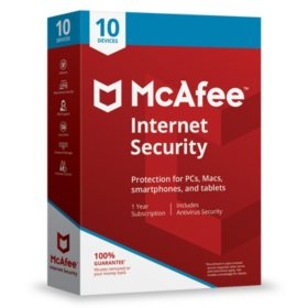 McAfee Internet Security 2019 10-Device