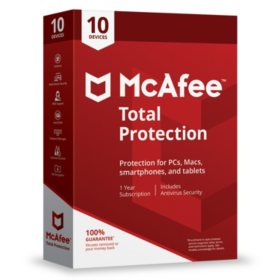 McAfee Total Protection 2019 10-Device