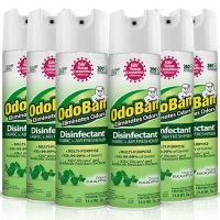 OdoBan Disinfectant Spray, 14.6 oz./can, 6 pk. (Choose Scent)