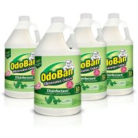 Deals on 4Pk OdoBan Odor Eliminator and Disinfectant Concentrate Eucalyptus Scent