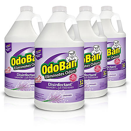 OdoBan Odor Eliminator and Disinfectant Concentrate, Lavender (4 pk.)