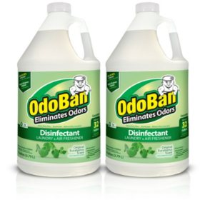 OdoBan Odor Eliminator and Disinfectant Concentrate, Eucalyptus Scent