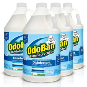 OdoBan Odor Eliminator and Disinfectant Concentrate, Fresh Linen (4 pk.)