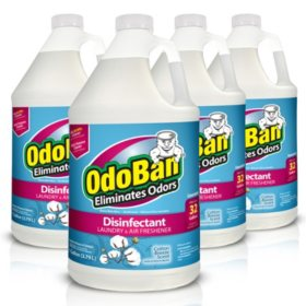 OdoBan Odor Eliminator and Disinfectant Concentrate, Cotton Breeze (4 pk.)