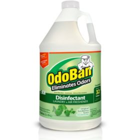 OdoBan Odor Eliminator and Disinfectant Concentrate, Eucalyptus Scent (1 gal.)