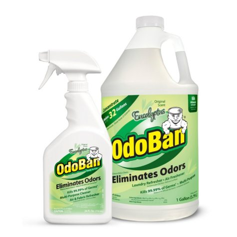 OdoBan - 128 oz. jug & 24 oz. bottle