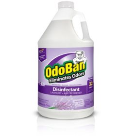 OdoBan Odor Eliminator and Disinfectant Concentrate, Choose Your Scent (1 Gallon)
