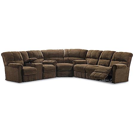 Lane Furniture Cody 3-Piece Reclining Sectional Sofa - Sam\'s Club