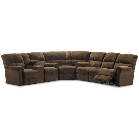 Lane Furniture Cody 3-Piece Reclining Sectional Sofa