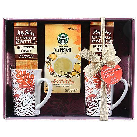 Starbucks Harvest Latte Gift Set