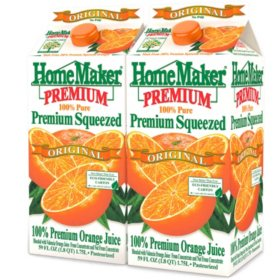 Homemaker Orange Juice (59 fl. oz., 2 pk.)