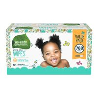 Seventh Generation Free & Clear Baby Wipes, Unscented (768 ct.)