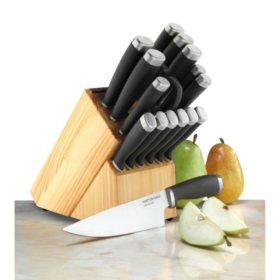 Hampton Forge Epicure 17-Piece Knife Block Set