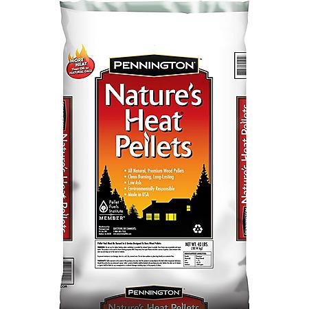 Penington Nature's Heat Pellets - 40 lbs.