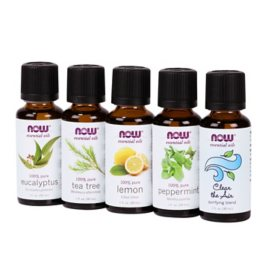 NOW Plant Defense Essential Oils Kit (1 fl. oz., 5 pk.)