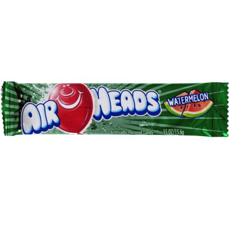 Airheads Watermelon Flavored Candy - 0.55 oz. Bar - 36 ct.