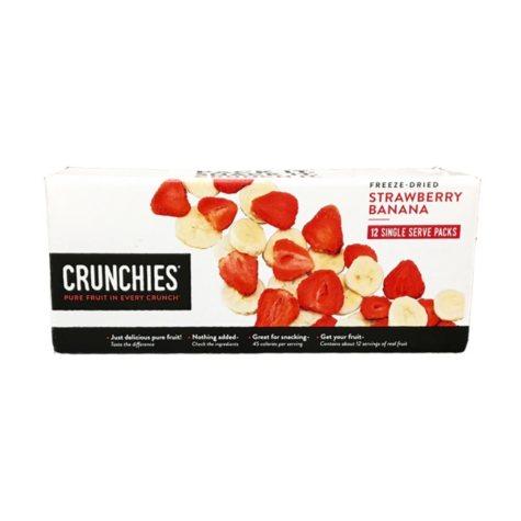 Crunchies Freeze Dried Strawberry Banana (12 pk.)