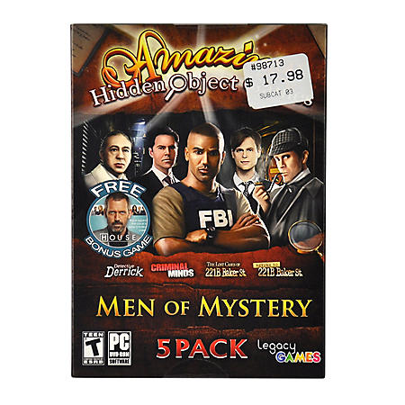 MEN OF MYSTERY PC GAMES