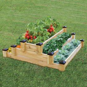 Greenland Gardener's Tiered Garden Bed