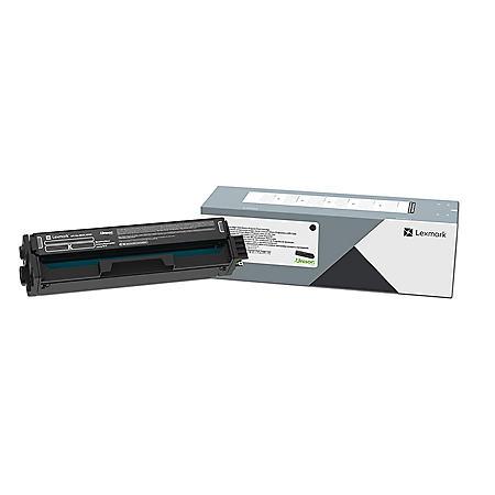 Lexmark 20N10K0 Return Program Toner, 1500 Page-Yield, Black
