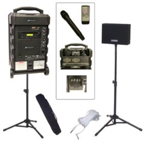 Amplivox Titan 100W Portable PA Bundle with Handheld Mic