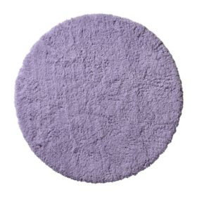 """Cozy Toes 50"""" Round Rug (Assorted Colors)"""