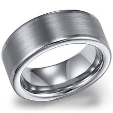 Tungsten Carbide 8mm Comfort-fit Wedding Band