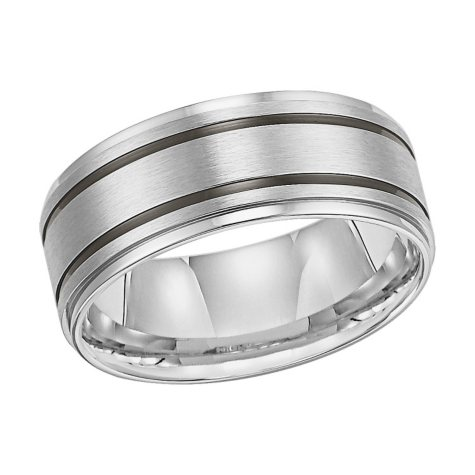 Stainless Steel 9mm Comfort-Fit Band