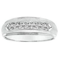 0.47 CT. T.W. Men's Diamond Ring in 14K Gold