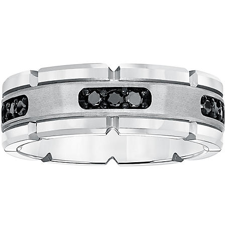 8mm .30 CT. T.W. Tungsten Carbide Comfort Fit Band