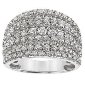 1.43 CT. T.W. Diamond Fashion Ring in 14K Gold (I, I -1)