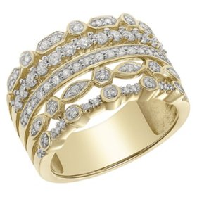 14K Gold Faux Stackable Ring