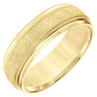 7MM Comfort Fit Band in 14 Karat Yellow Gold