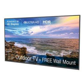 """Neptune 75"""" Class Shade-Series 4K Ultra HD Outdoor TV - SOTV75"""