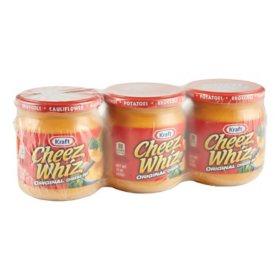 Kraft Cheez Wiz (15 oz., 3 pk.)