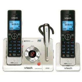 Vtech 2 Handset Expandable Cordless Phone W Headset Sam S Club