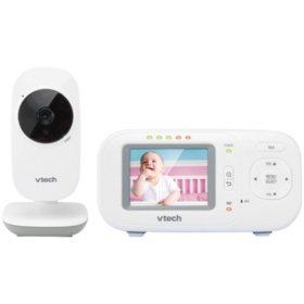 "VTech 2.4"" Full-Color Digital Video Baby Monitor & Automatic Night Vision, VM2251"