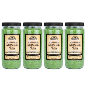 Village Naturals Therapy Aches and Pains Muscle Relief Bath Salts (4 ct.)