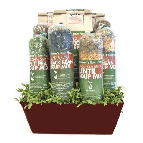 Gourmet Gift Basket - Women's Bean Project (9 pc.)