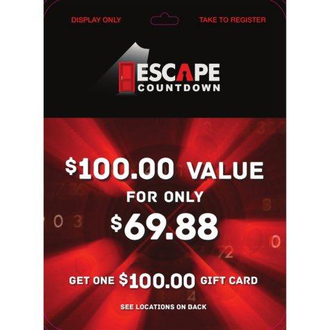 Escape Countdown - 1 x $100