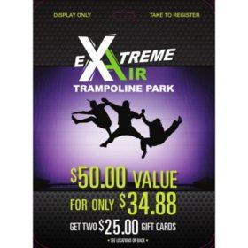 Extreme Air Park - 2 x $25