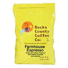 Bucks County Farmhouse Espresso Coffee (2.5 lb.)